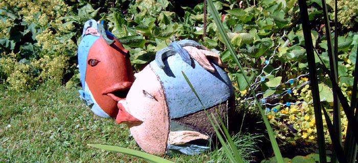 Ursula Gabler-Keramik | Galerie: Keramik im Garten